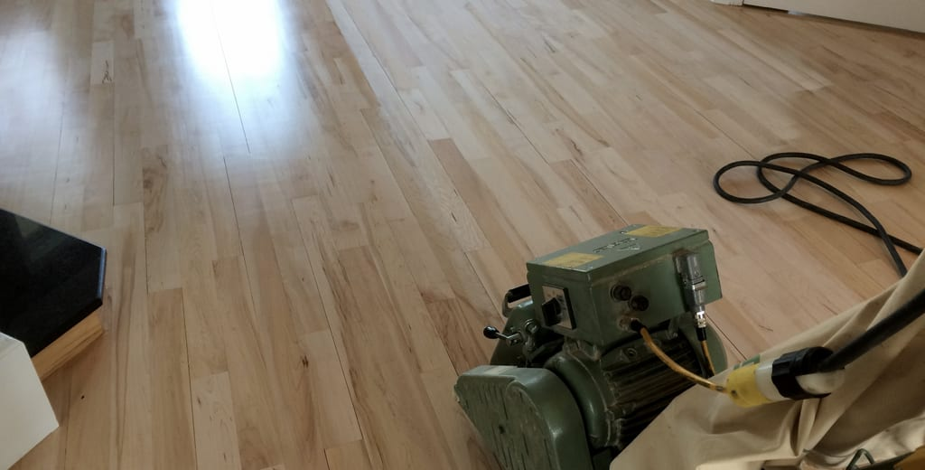 All you need to know about wood floor sanding